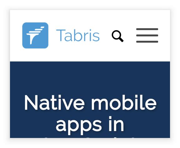 """Class """"WebView"""" - Tabris js Documentation"""